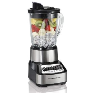 Hamilton Beach Wave Crusher Blender with 40oz Glass Jar