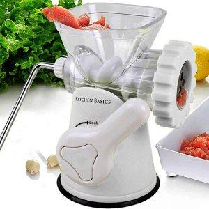 Kitchen Basics 3 N 1 Manual Meat and Vegetable Grinder Mincer