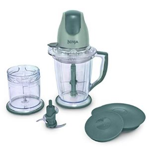 Ninja 400-Watt Blender Food Processor for Frozen Blending QB900B