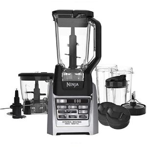 Ninja Auto-iQ Total Boost Kitchen Nutri Blender System with 1500 Watts professional base- BL687CO