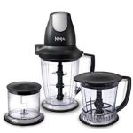 Ninja Blender Food Processor with 450-Watt Base QB1004