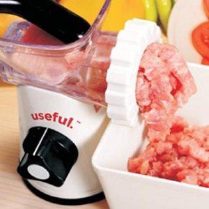 Useful. Manual Meat Grinder, Mincer, and Pasta Maker
