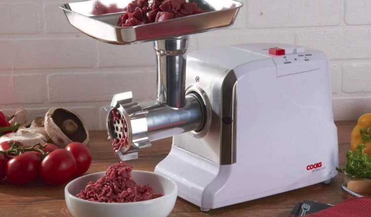 cleaning a meat grinder